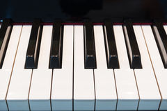Pianino klucze 1 obrazy stock