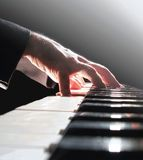 Pianist Royalty Free Stock Photography