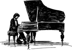 Free Pianist Royalty Free Stock Images - 36701389
