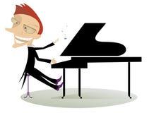 pianist Stockfotos