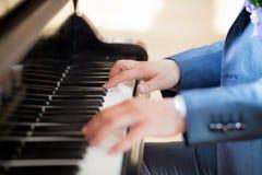 pianist Arkivbild