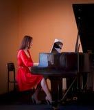 pianist Stockbilder
