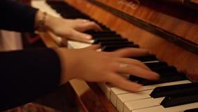 pianist stock footage