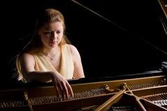 pianist Royaltyfri Fotografi