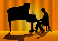 Pianist Royalty Free Stock Images
