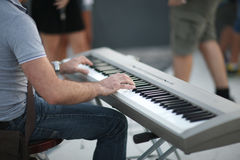 Pianist Stock Photography
