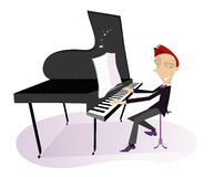 Pianist Royalty Free Stock Photo
