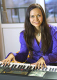 Pianista Imágenes de archivo libres de regalías