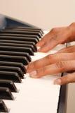 Pianista Fotografie Stock