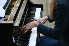 Pianista Fotos de archivo