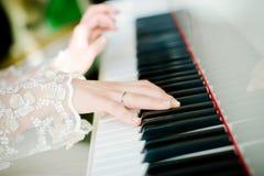 Pianista Foto de Stock