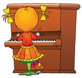 Pianista ilustração stock