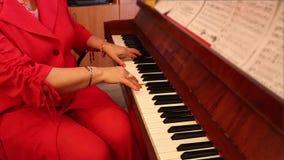 Pianista stock footage