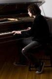 Pianista Fotografie Stock Libere da Diritti