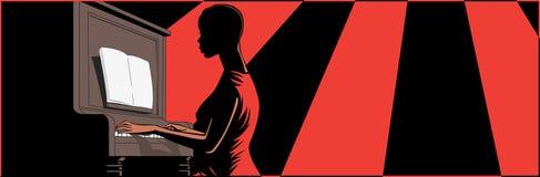 pianista ilustracja wektor
