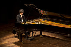 Pianista brasileiro LuÃs Fernando Rabello Imagem de Stock Royalty Free