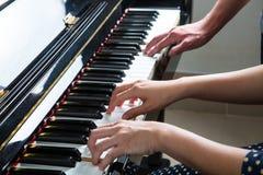 Pianista sztuki pianina muzyka Zdjęcie Royalty Free