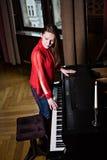 Pianiste images libres de droits