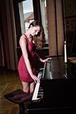 Pianiste photos stock