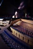 Pianiste photos libres de droits