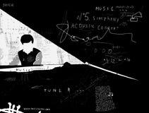 pianiste Image stock