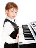 pianisty cudowne dziecko Zdjęcia Stock