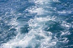 Piankowa ścieżka w morzu Zdjęcie Royalty Free