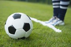 Piankowy kiści linii mecz piłkarski Obraz Stock