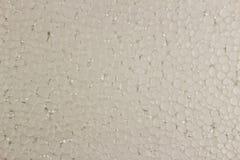 Piankowy plastikowy tło biel zdjęcie stock