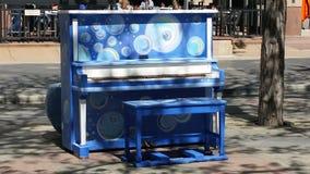Piano à Denver image libre de droits