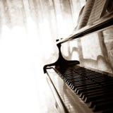 Piano à queue abstrait Image libre de droits