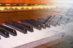 Piano Photographie stock