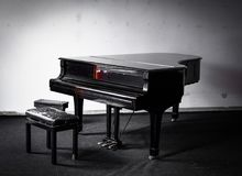 piano Arkivfoto