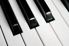 Piano. Music, piano, piano keyboard, relaxing stock photography