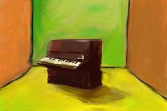 Piano Fotografia de Stock Royalty Free