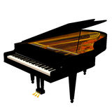 Piano Photos libres de droits