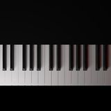 piano stock illustrationer