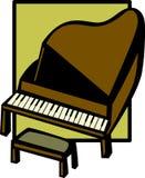 piano Arkivbild