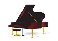 Piano. illustration de vecteur