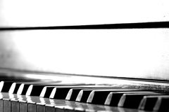 Piano Fotografia Stock