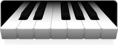 Piano Fotografia Stock Libera da Diritti