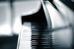 Piano stock image