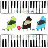 Piano Foto de archivo