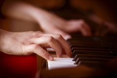 Piano Imagen de archivo libre de regalías