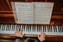 Piano Imágenes de archivo libres de regalías
