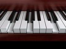 Piano accord. G minor accord on piano Stock Images