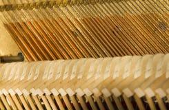 Piano adentro imagen de archivo libre de regalías