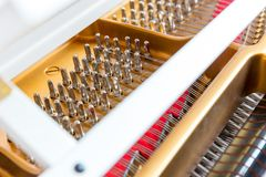 Piano adjustment Royalty Free Stock Images