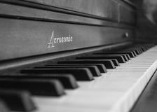 Piano antigo Imagem de Stock Royalty Free