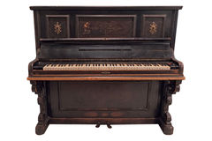 Piano antiquato Immagine Stock